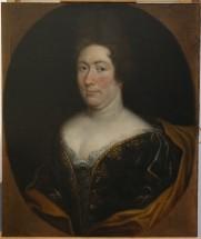 Portrait d'Anne Marie Louise d'Orléans Duchesse de Montpensier dite «la Grande Mademoiselle» (1627 - 1693) - Après restauration