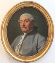 Portrait d'homme, Anonyme (en cours d'attribution) c. 1780 Huile sur toile (65 x 48 cm) (Coll. particulière) - Après restauration